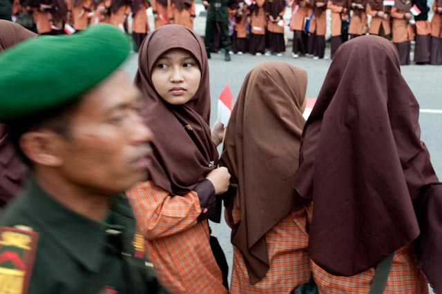 Visite officielle du président indonésien Susilo Bambang Yudhoyono à Solo © ppc
