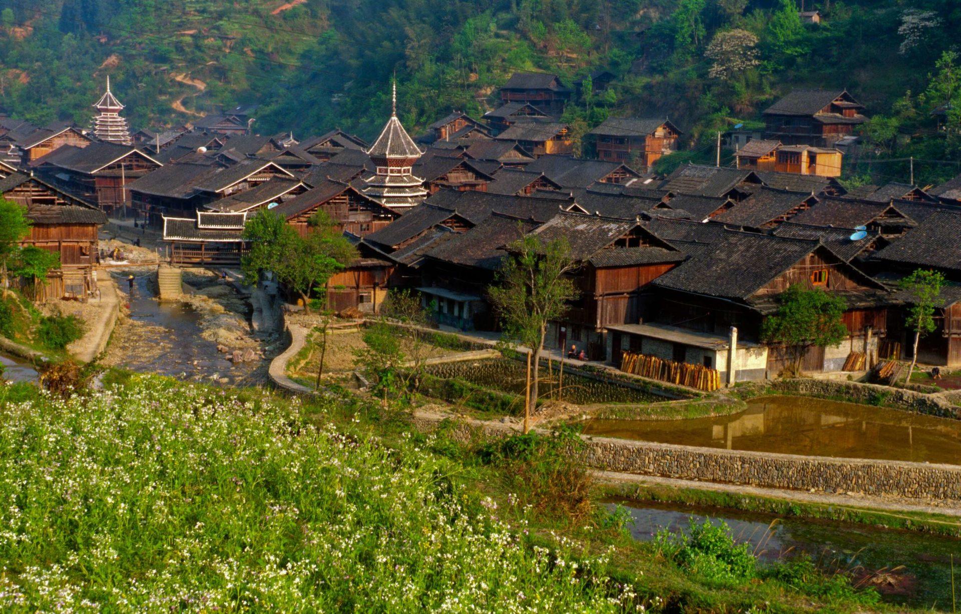 Zhaoxing, village Dong, Guizhou © ppc