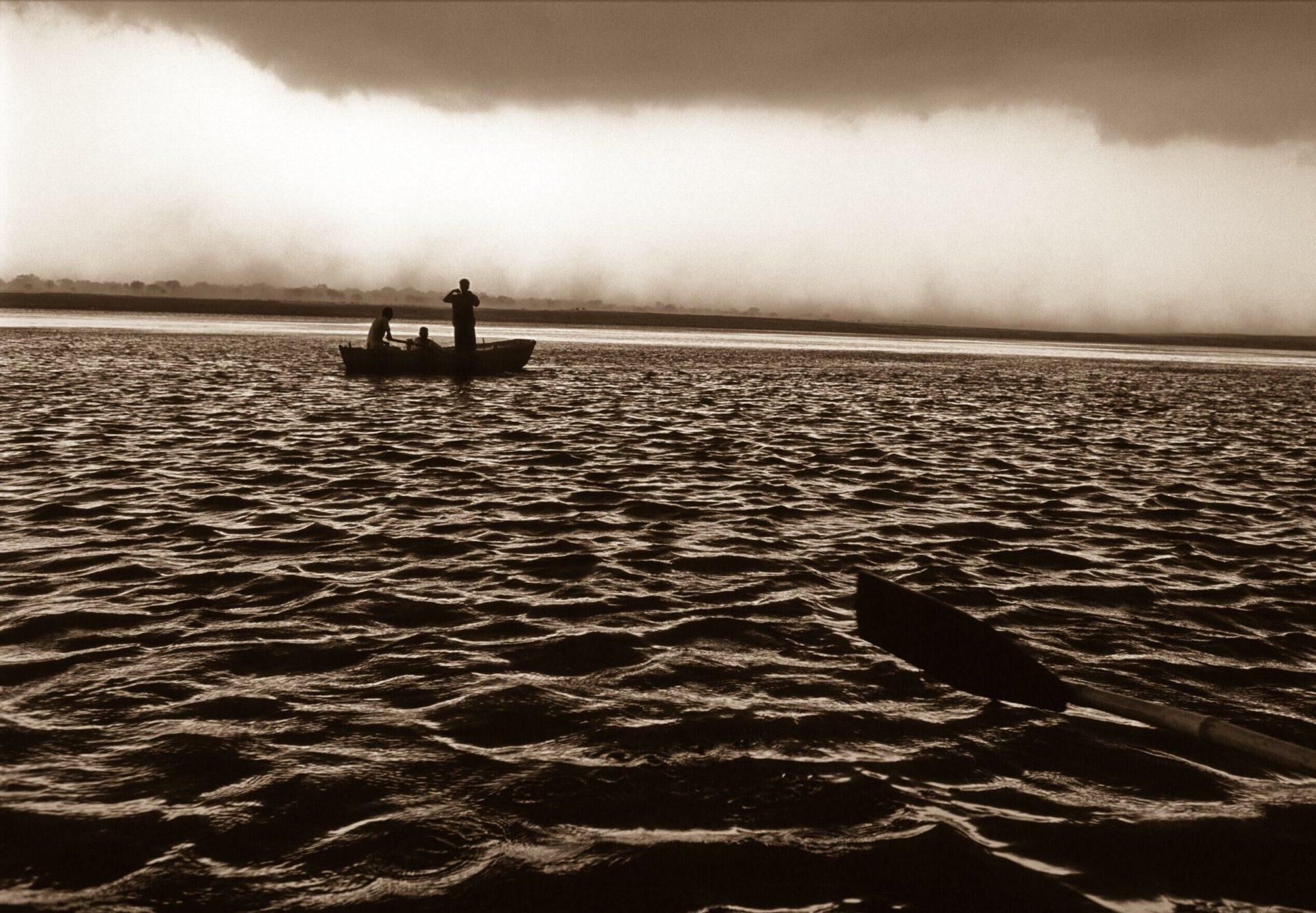 Gange, zone du fleuve ou fraient les poissons qui savent lire le karma © Philippe Pataud Célérier