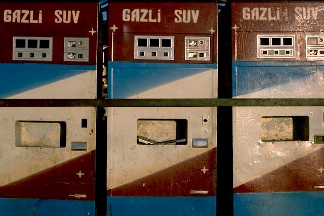 Distributeur d'eaux gazeuses © ppc