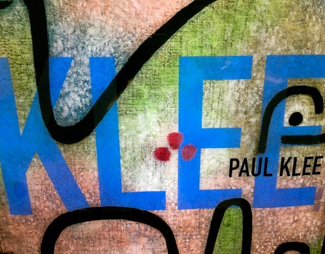 Paul Klee - Affiche © www.philippepataudcélérier.com