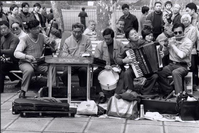 Shanghai, un dimanche matin, 2000 © ppc