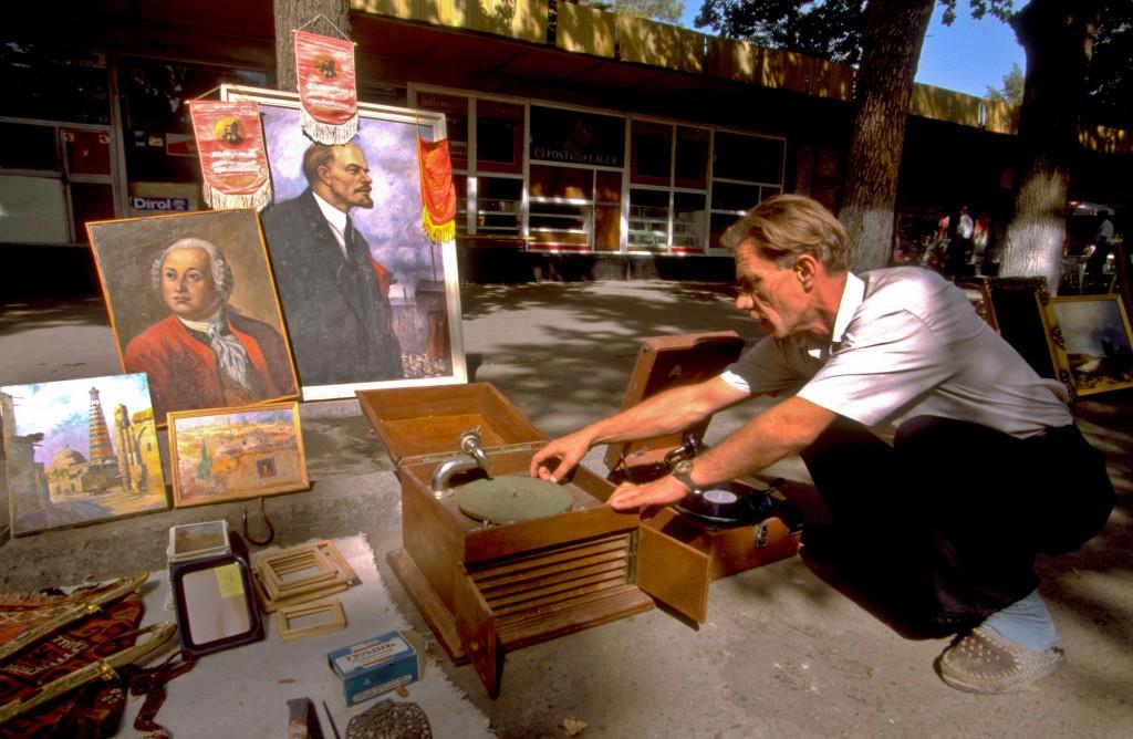 Ouzbékistan, Tachkent, avenue Karl Marx © ppc