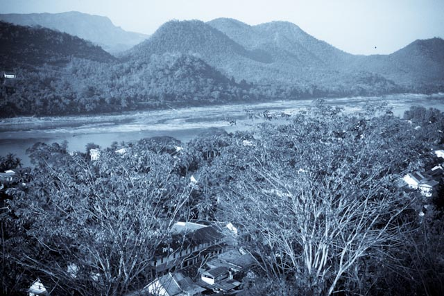 Vue du mont Phousi, Luang Prabang © ppc