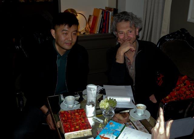 Liu Bolin, ppc, 15 janvier 2013 © G. Clastres