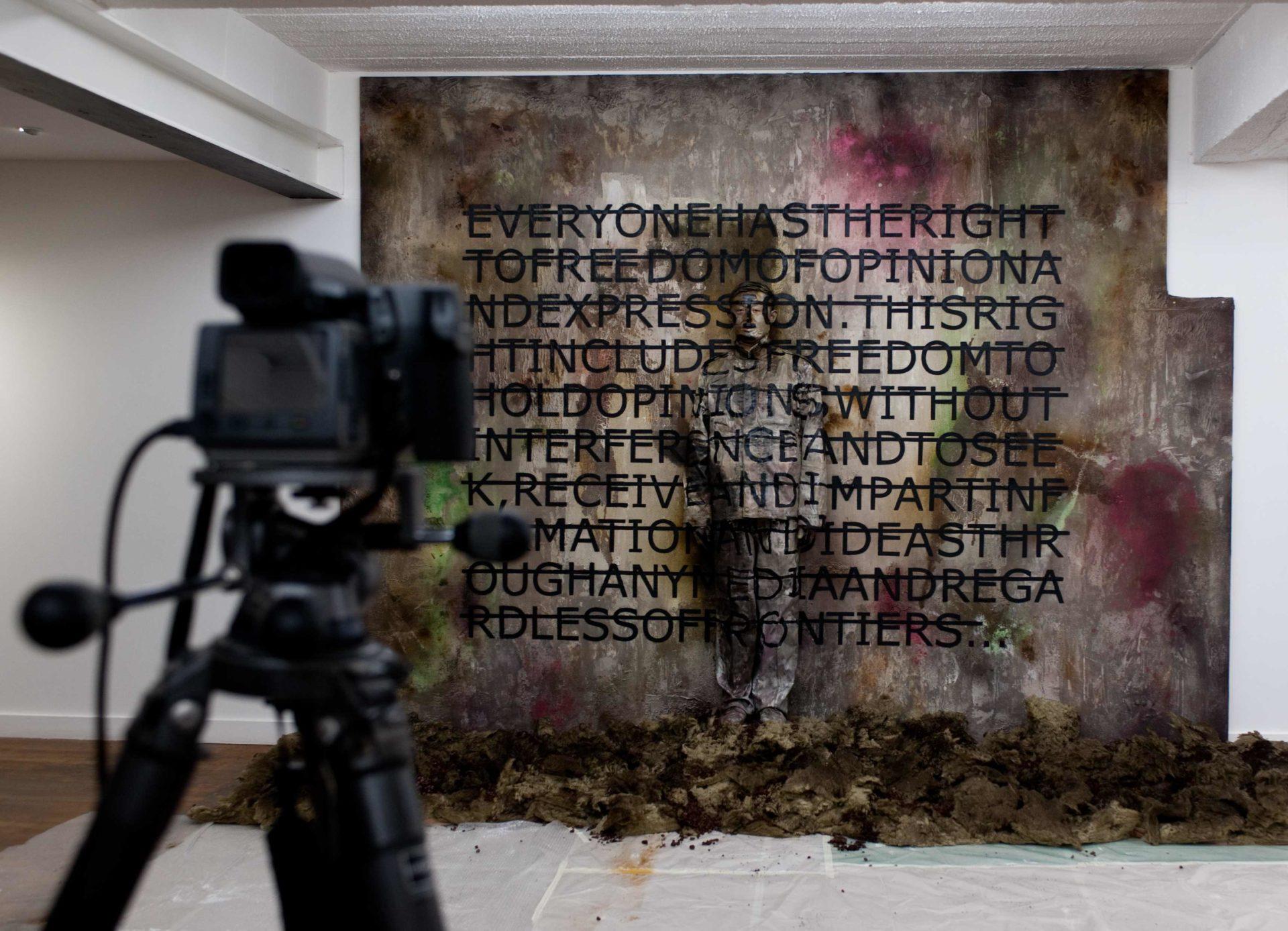 Liu Bolin / Rero / Backlash Galerie - Paris Beijing Galerie © ppc