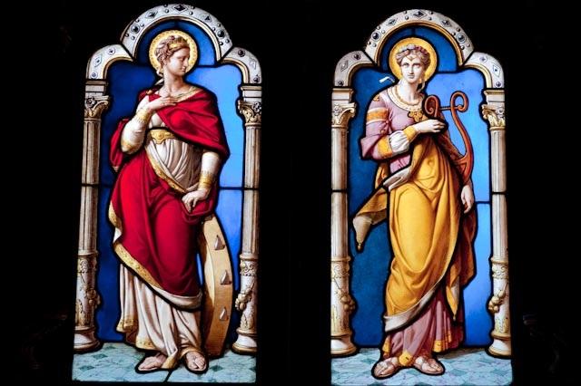 Marie-Madeleine, vitraux de Max Ingrand, Chapelle Saint-Calais, Château de Blois © PPC