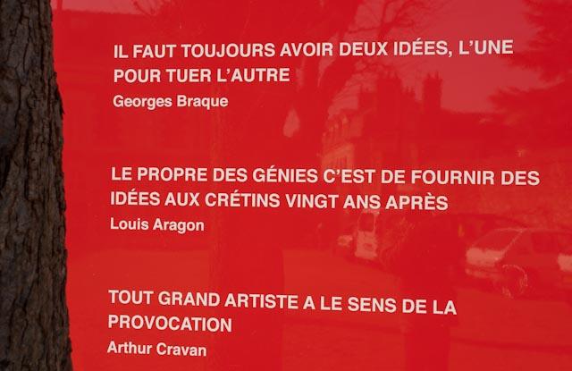 Fondation du doute, Blois PPC