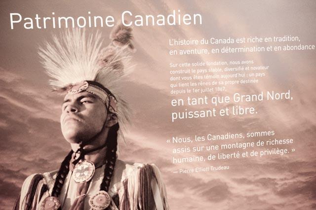 Nous, Patrimoine canadien ©Philippe Pataud Célérier