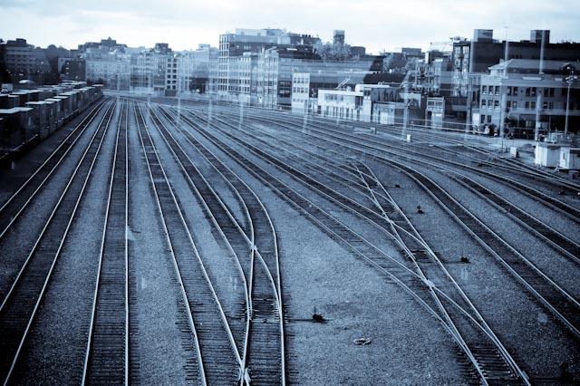 La gare centrale de Vancouver © ppc