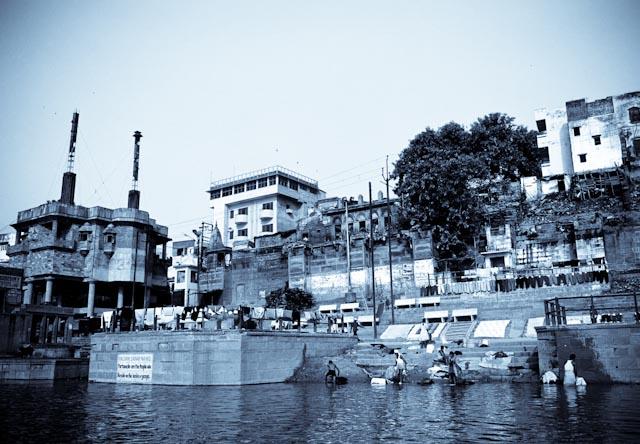 Bénarès, Harishchandra ghat ©Philippe Pataud Célérier
