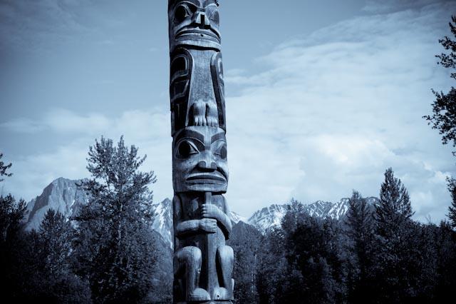 Canada, Colombie britannique, 'Ksan, vallée Skeena © ppc, 2013
