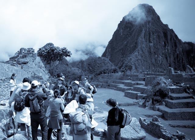 Machu Picchu, touristes © ppc