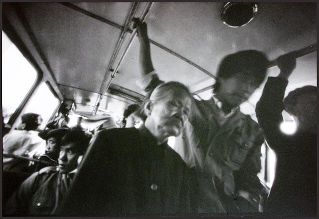 © Mo Yi, Tossing Bus, China 1989.