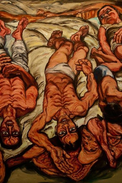 Zeng Fanzhi, Meat Reclining Figures, 1992 © photo PPC