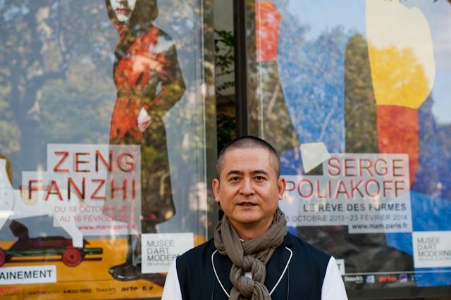 Zeng Fanzhi, Musée d'Art moderne - ville de Paris, 17 octobre 2013 © ppc
