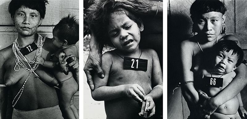 © Claudia Andujar, Série Marcados, 1981-1983