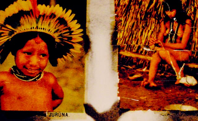 © Anna Bella Geiger Historia do Brasil (détail)
