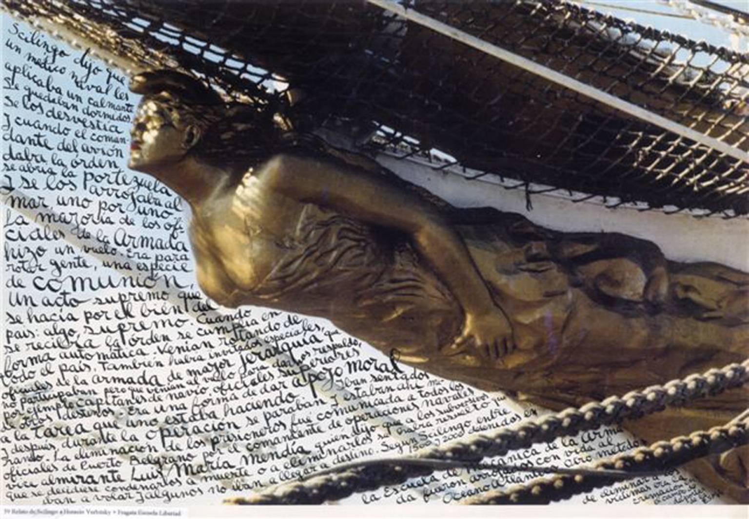 © Léon Ferrari, Série Nunca mas, Libertad, 1995