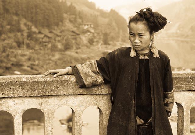 Chine, Guizhou, Fulu, femme Dong © PPC