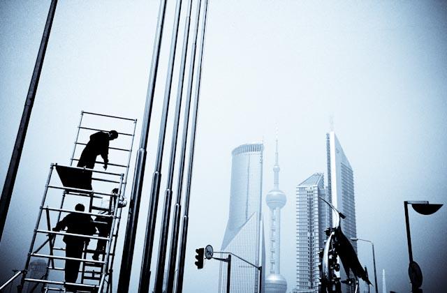 Shanghai, Pudong, ©Philippe Pataud Célérier