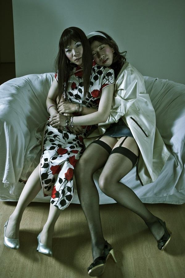 Emily et Si Guobing, 2008, Guangzhou © Zhang Hai'er