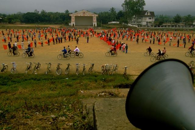 Exercices patriotiques, Ventiane, Laos
