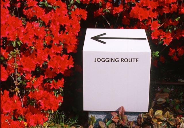 Jogging route, Tokyo, Japon © ppc