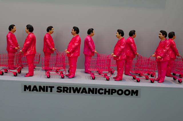 Manit Sriwanichpoom, Art Paris Art Fair, mars 2014