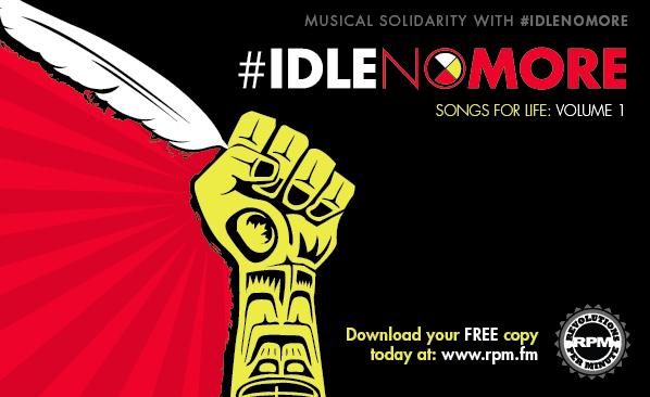 Idle no more © DR
