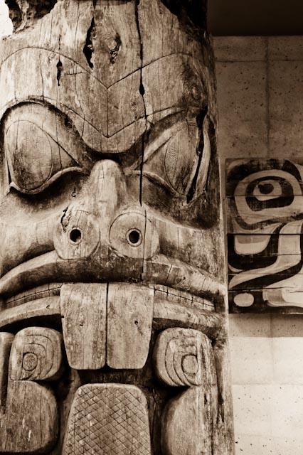 Haida, UBC museum of anthropology, Vancouver © ppc