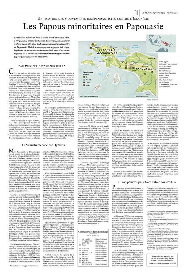 Papouasie - Le Monde Diplomatique