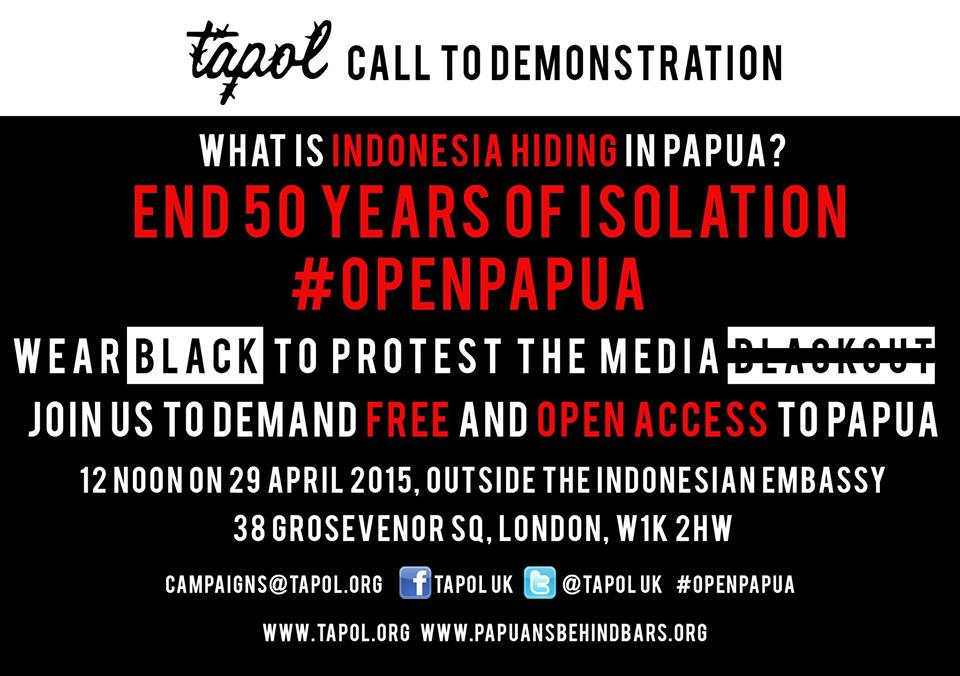 Demonstration: Open access to Papua!