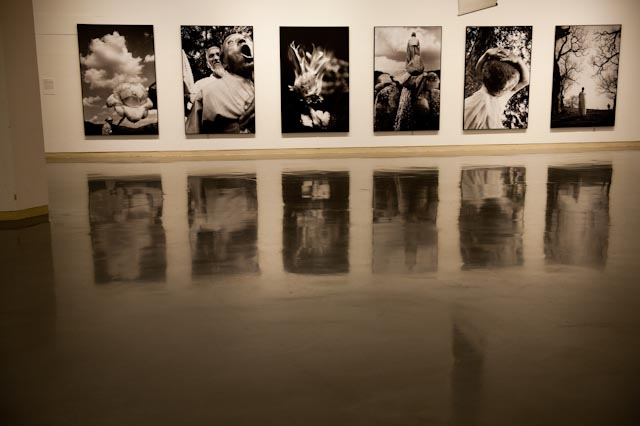Lee Gap Chul, biennale de Daegu, Corée du Sud, novembre 2014 © www.philippepataudcélérier.com
