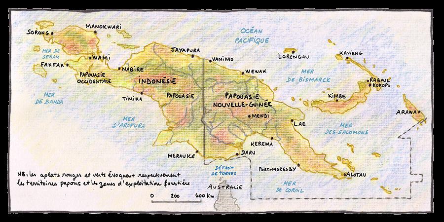 Nouvelle Guinée © Philippe Rekacewicz
