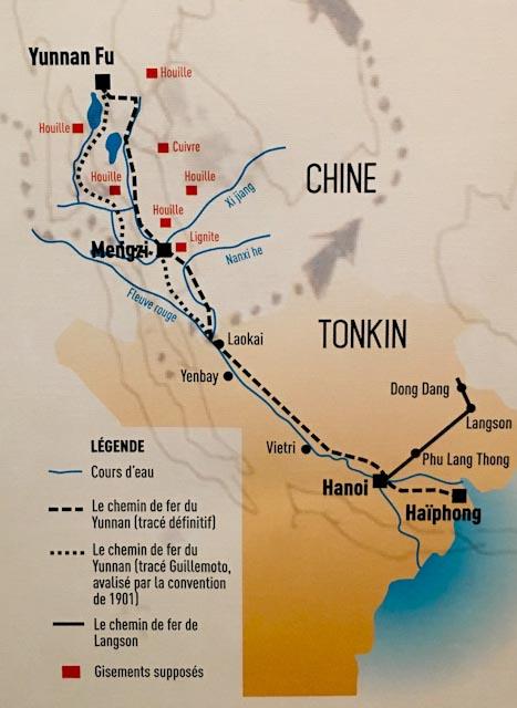 Carte géographique du Yunnan © DR