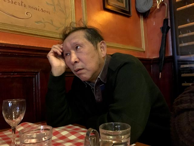 Li Kunwu, restaurant Polidor, décembre 2015, Paris © www.philippepataudcélérier.com