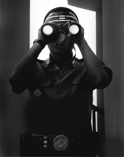 Panmunjeom, 1995 © Kim Nyung Man